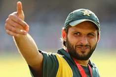 Shahid Afridi wants to coach junior cricketers It would be a great honor for me to work for Pakistan in any way: former ..