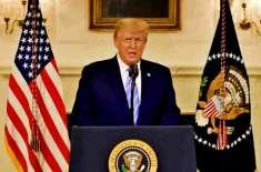 صدر ٹرمپ کی خود کو صدارتی معافی دینے کے لیے قانونی مشیروں سے مشاورت'بڑآئینی ..