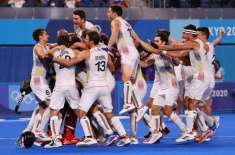 Hockey: Belgium became Olympic champions for the first time Belgium beat Australia by 3 goals to 2 on penalty corners in ..
