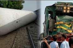 ایک اور تشویش ناک ٹرین حادثہ، مسافر ٹرین گیس ٹینکر سے ٹکرا گئی