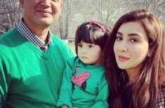 عائشہ خان کی بیٹی کے ساتھ خوبصورت تصویر وائرل
