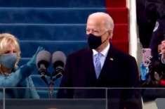 جوبائیڈن اور کمیلا ہیرس کی افتتاحی تقریب کے لیے کیپٹل ہل پرتقریب کا ..
