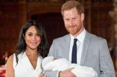 ہیری، میگھن کی بیٹی لیلیبٹ کا نام برطانوی شاہی تخت کے جانشینو ں میں ..