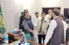 صدر تحریک انصاف جنوبی پنجاب سینیٹر عون عباس بپی کا دورہ بہاولپور ضلع ..