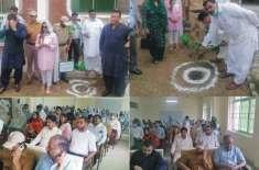 گورنمنٹ ایسوسی ایٹ کالج برائے خواتین سول لائنز جہلم میں شجرکاری مہم ..