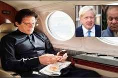 عمران خان برطانیہ کے دورے میں بورس جانس سے نواز شریف کی حوالگی کا مطالبہ ..