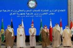 جی جی سی کا اجلاس؛ حوثی حملوں کی مذمت، خطے میں امن و سلامتی کیلئے تعاون ..