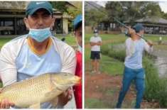 دورہ جنوبی افریقہ،یونس خان سکواڈ کو مچھلیاں پکڑنے کاسبق دیتے رہے