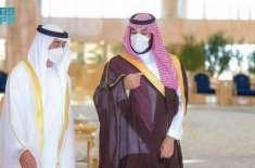 سعودی ولی عہد شہزادہ محمد بن سلمان کی ابوظبی کے ولی عہد سے اہم ملاقات
