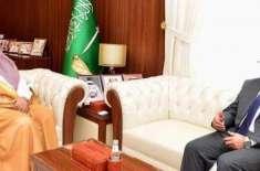 ہم وطنوں کے مسائل کے حل کیلئے پاکستانی سفیر کی اعلیٰ سعودی حکام سے ملاقاتیں