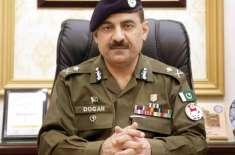 سربراہ لاہور پولیس غلام محمود ڈوگر کی کورونا ایس او پیز کے حوالے سے ..