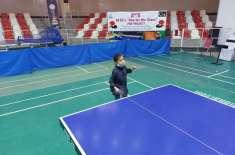 ایشین ٹیبل ٹینس یونین کے تعاون سے ایڈوانس ٹریننگ وکوچنگ کیمپ پشاور ..