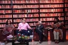 """آرٹس کونسل آف پاکستان کراچی میں """"پاکستان میں ادب کا پس ِ منظر : ماضی .."""