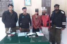 ڈسٹرکٹ پولیس آفیسر جہلم کے حکم پر پولیس کی کاروائی، مال مسروقہ اور ..