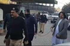 اشتعال انگیز تقریر، رکن قومی اسمبلی علی وزیر پر فرد جرم عائد
