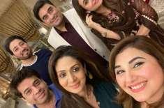 اداکارہ جویریہ سعودکی جانب سے نادیہ خان اور ان کے شوہر کیلئے اپنی رہائشگاہ ..