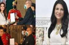 سکینہ سموں کا علی ظفر اور ریشم کو صدارتی اعزاز ملنے پر اظہار افسوس