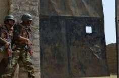 جنوبی وزیرستان میں سیکیورٹی فورسز کے آپریشن میں دودہشتگرد ہلاک، ایک ..