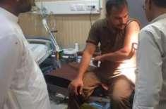 تھانہ کنجاہ کے علاقہ شادیوال ایشرہ میں ریڈ کے دوران پولیس پر فائرنگ ..