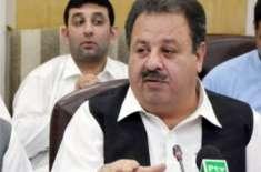 خیبرپختونخواکے وزیربلدیات اکبر ایوب خان نے استعفیٰ دے دیا