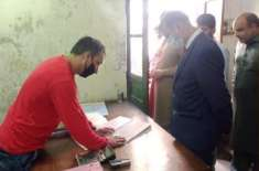 ڈپٹی کمشنر و ایڈمنسٹریٹر جہلم کا میونسپل کارپوریشن کا دورہ،