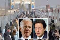 امریکا کا پاکستان سے افغان مہاجرین کیلئے سرحدیں کھولنے کا مطالبہ