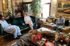 جہانگیر ترین کی پیر پگارا سے ملاقات کی اندرونی کہانی سامنے آگئی