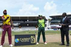 دوسرا ٹی ٹونٹی، ویسٹ انڈیز کا پاکستان کیخلاف ٹاس جیت کر فیلڈنگ کا فیصلہ