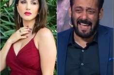 سلمان خان نے اداکارہ سنی لیون سے محبت کا اظہار کردیا