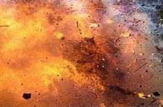 وانا بازار میں ریموٹ کنٹرول بم دھماکہ'کوئی جانی نقصان نہیں ہوا