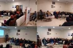 ڈاکٹر حفیظ الرحمان کی زیر صدارت ڈاکٹرز عمل گروپ کے تمام ڈاکٹرز کا اجلاس