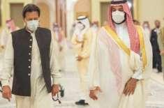 ولی عہد شہزادہ محمد بن سلمان کی دعوت پر وزیراعظم کل سعودی عرب روانہ ..