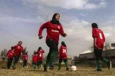 افغان خواتین فٹبالرز کی ٹیم اہل خانہ کے ہمراہ پاکستان پہنچ گئی