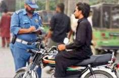 پنجاب حکومت نے ٹریفک قوانین کی خلاف ورزی پر جرمانہ فیس میں اضافہ کردیا