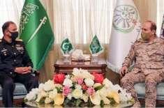 چیف آف دی نیول اسٹاف ایڈمرل محمد امجد خان نیازی کا سعودی عرب کا دورہ