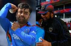 انضمام الحق نے صرف ایک گیند کی بنیاد پر مجھے افغان ٹیم میں سلیکٹ کیا:راشد ..