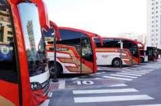 دبئی اور ابوظہبی کے درمیان بس سروس کا دوبارہ آغاز کر دیا گیا، سفری ..