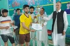 آل پاکستان والی بال ٹورنامنٹ سجاول والی بال کلب نے جیت لیا