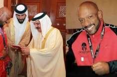 بحرین کے نامور باڈی بلڈر سمیع الحداد قطری سمندری حدود کی خلاف ورزی ..