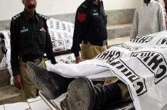 پشاور میں پولیو ٹیم پر فائرنگ ، پولیس اہلکار شہید