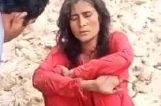راولپنڈی میں نامعلوم شخص کا راہ چلتی خاتون پر تشدد، 14 ماہ کے بچے کو ..