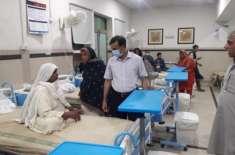 ڈپٹی کمشنر راؤ پرویز اختر کا رات گئے اچانک ڈسٹرکٹ ہیڈ کواٹررز ہسپتال ..