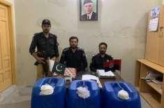 محکمہ ایکسائز خیبر پختونخوا کی صوبہ بھر میں منشیات کے خلاف کامیاب کاروائیاں ..