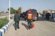 صادق آباد، ماہی چوک پر ڈاکوئوں نے دن دہاڑے پیٹرول پمپوں پر حملہ کرکے ..