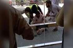 پشاور کے شہری کی جانب سے بی آر ٹی پل سے کود کر خود کشی کی کوشش