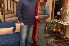 ماہ قبل میں اور میرے شوہر ایک دوسرے کیلئے انجان تھے، نادیہ خان
