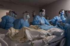 دنیا بھر میں کرونا مریضوں کی تعداد میں اضافے ،اموات کا سلسلہ جاری