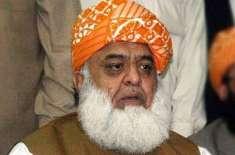 عمران خان نے کشمیر فروشی کے ہمارے دعوؤں پر مہر ثبت کردی، مولانا فضل ..
