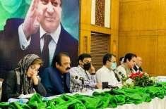 مسلم لیگ ن ملتان ڈویژن کی میٹنگ ، یونین کونسل سطح پر ازسرنو تنظیم سازی ..