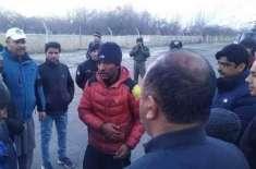 اب سرچ آپریشن میتوں کی تلاش کیلئے کیا جانا چاہئے :ساجد سدپارہ